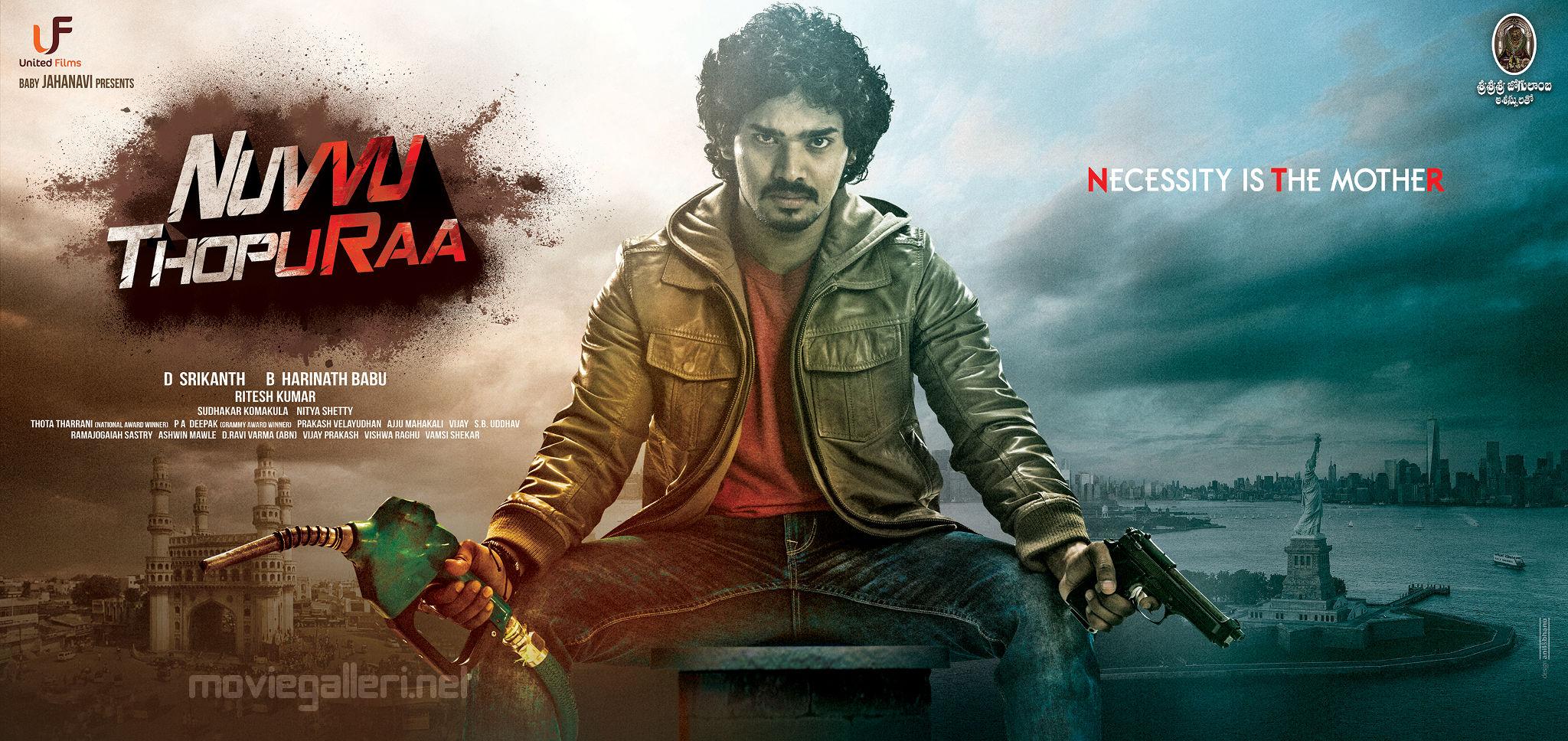 Actor Sudhakar Komakula's Nuvvu Thopuraa Movie First Look Wallpapers