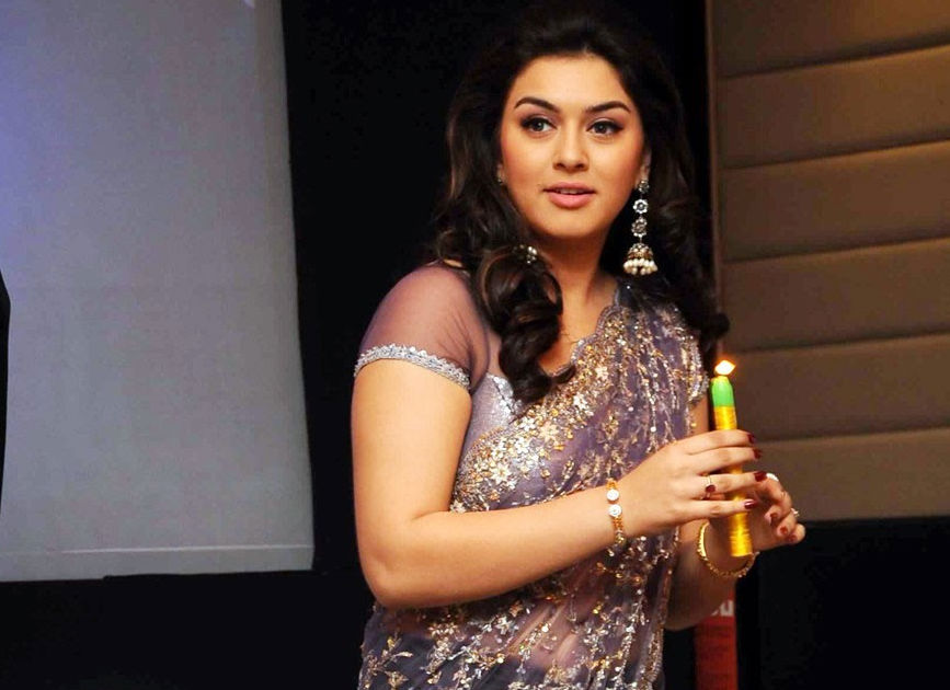 Image result for Hansika to play Sangamithra?