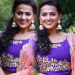 Shraddha Srinath in Purple Violet Lehenga Churidar Dress Stills