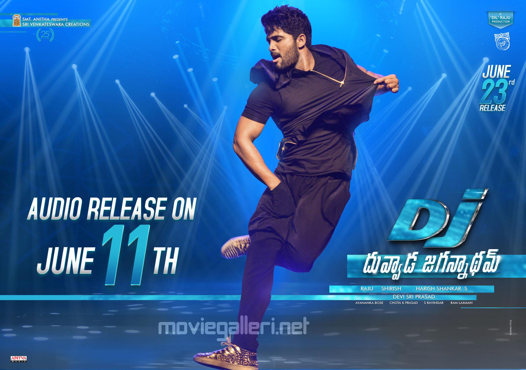 Allu Arjun DJ Duvvada Jagannadham Audio Release Date On June 11th Wallpaper