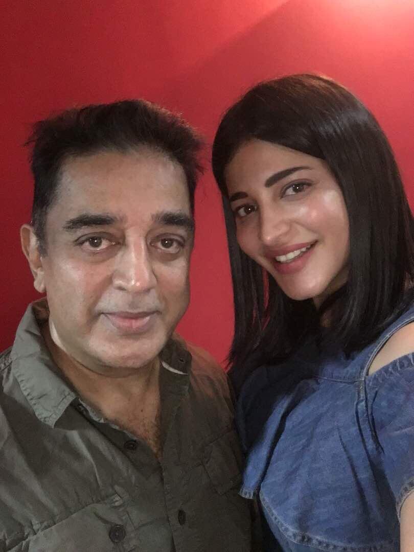 Daddy's girl forever Shruti Haasan