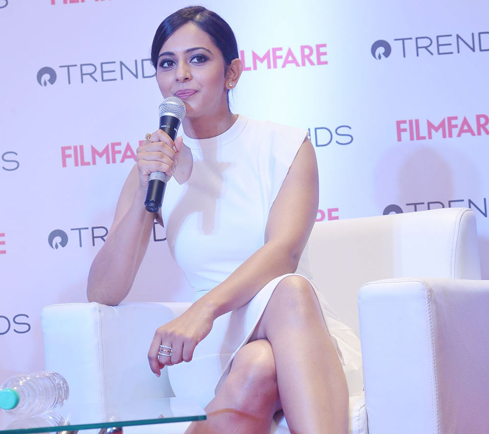 Filmfare Meet and Greet with Rakul Preet Singh at Reliance Trends Begumpet store, Hyderabad