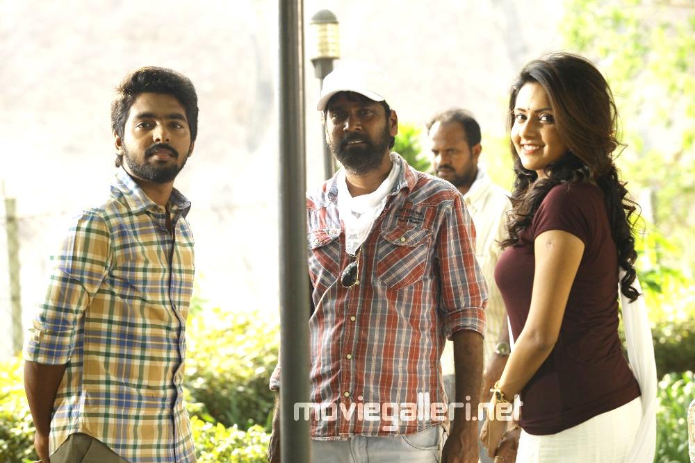 GV Prakash Ravi Arasu Mahima Nambiar Ayngaran Movie Shooting