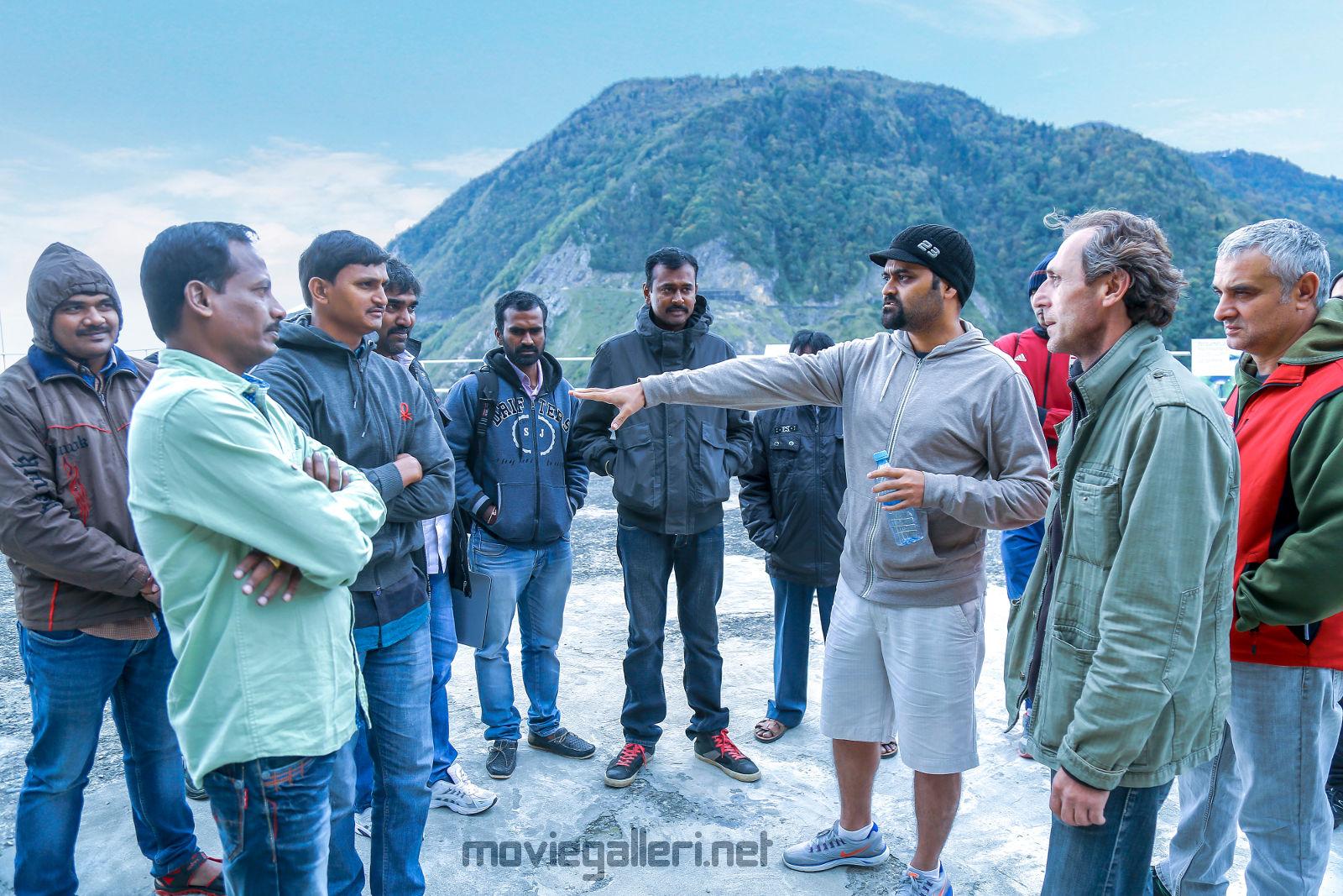 Garuda Vega Movie Team spends 33 days in Georgia