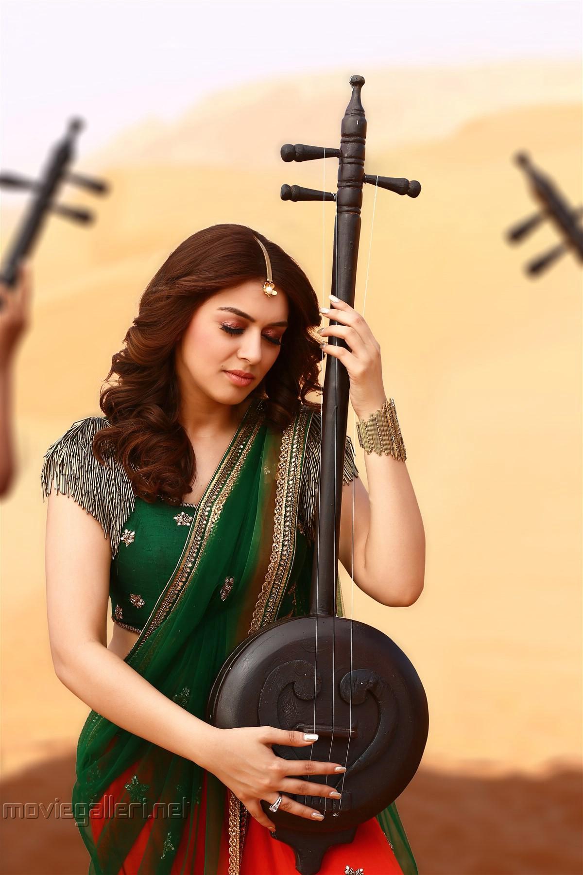 Gautham Nanda Movie Actress Hansika Motwani Images