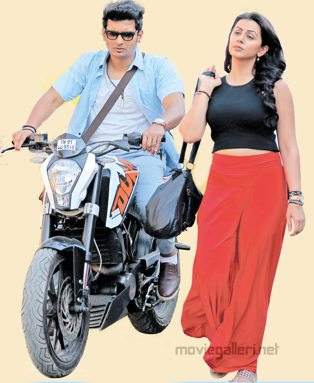 Jiiva, Nikki Galrani in Kee Tamil Movie First Look Images