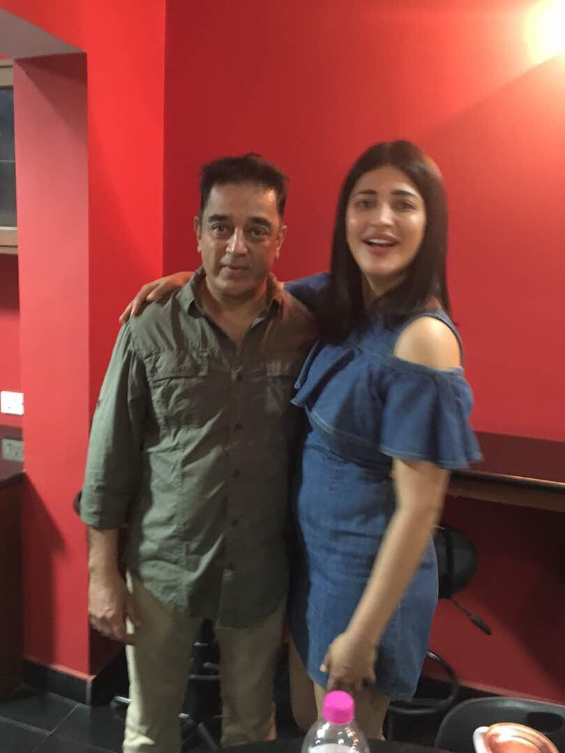 Kamal Hassan Daddy's girl forever Shruti Haasan