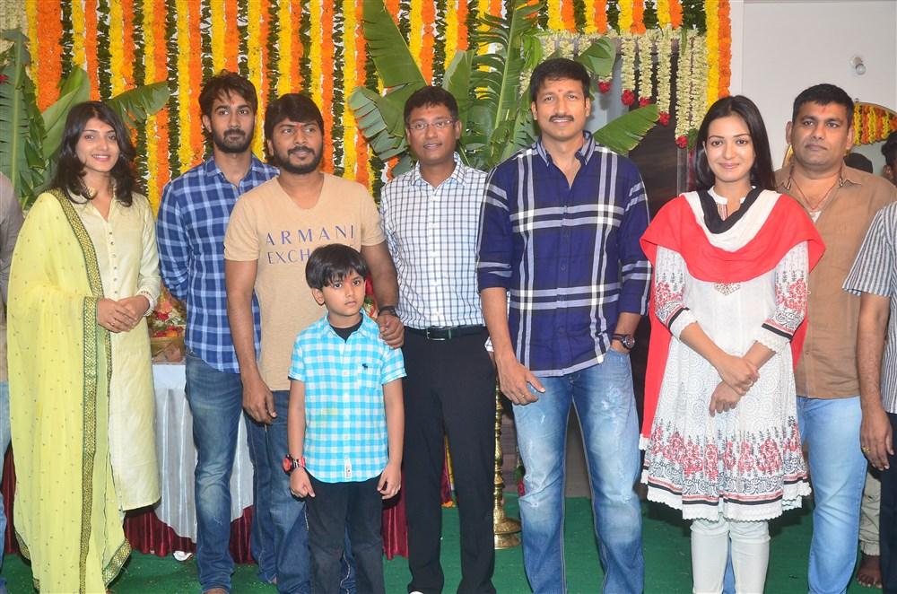 Paper Boy Telugu Movie Opening Stills