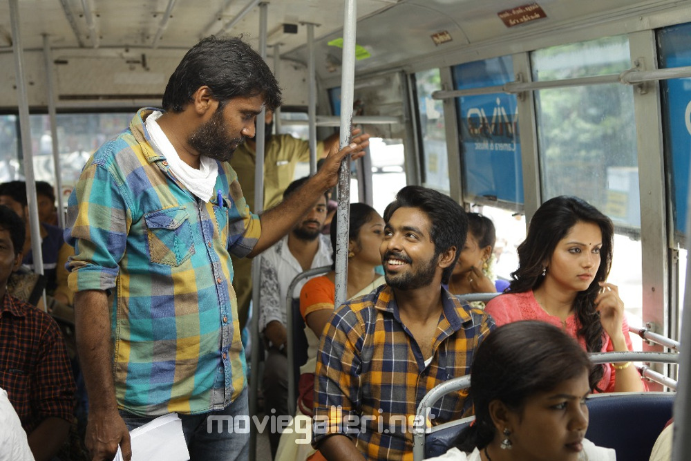 Ravi Arasu GV Prakash Mahima Nambiar Ayngaran Movie Shooting