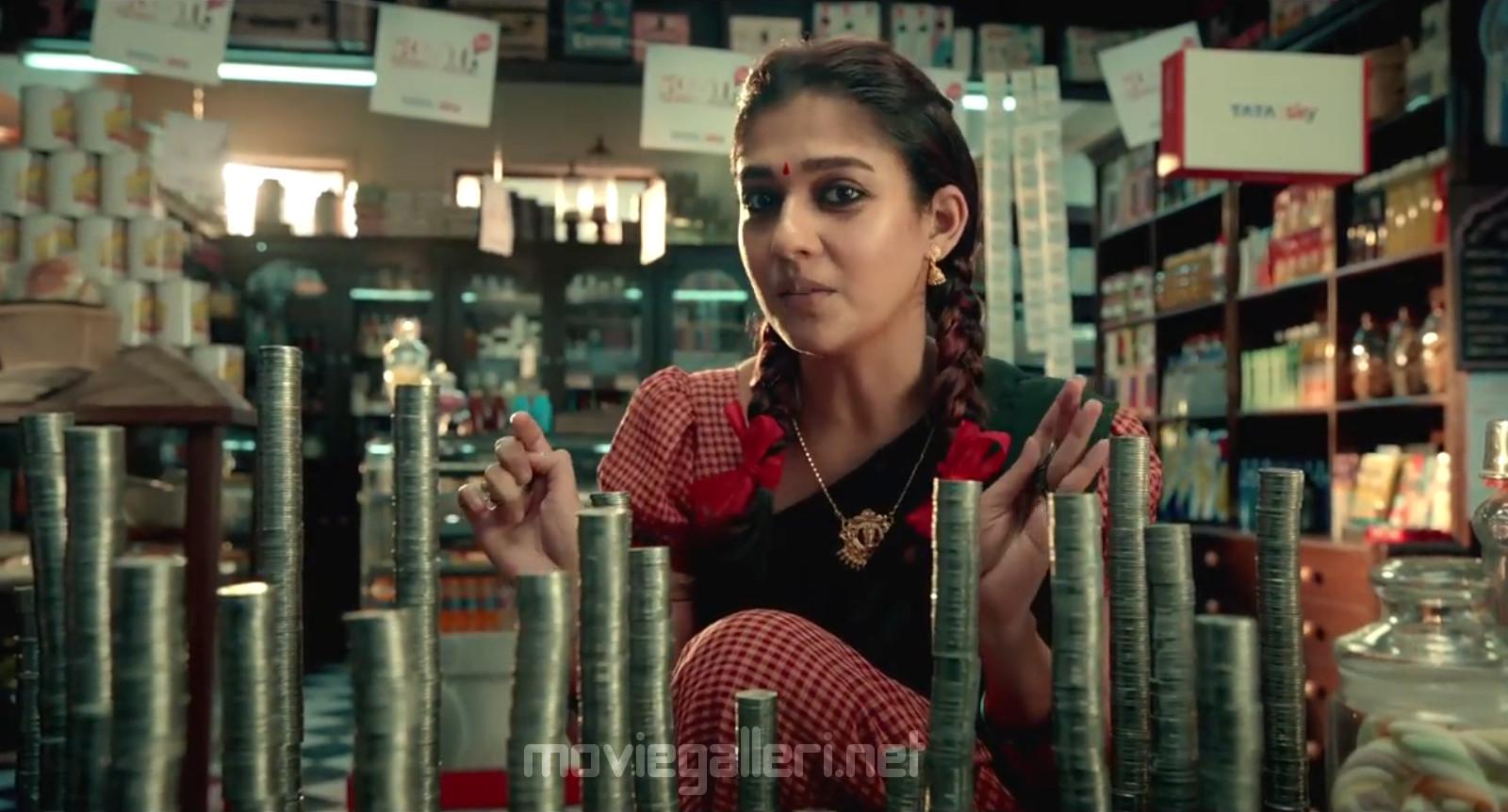 Actress Nayanthara in Tatasky Ad