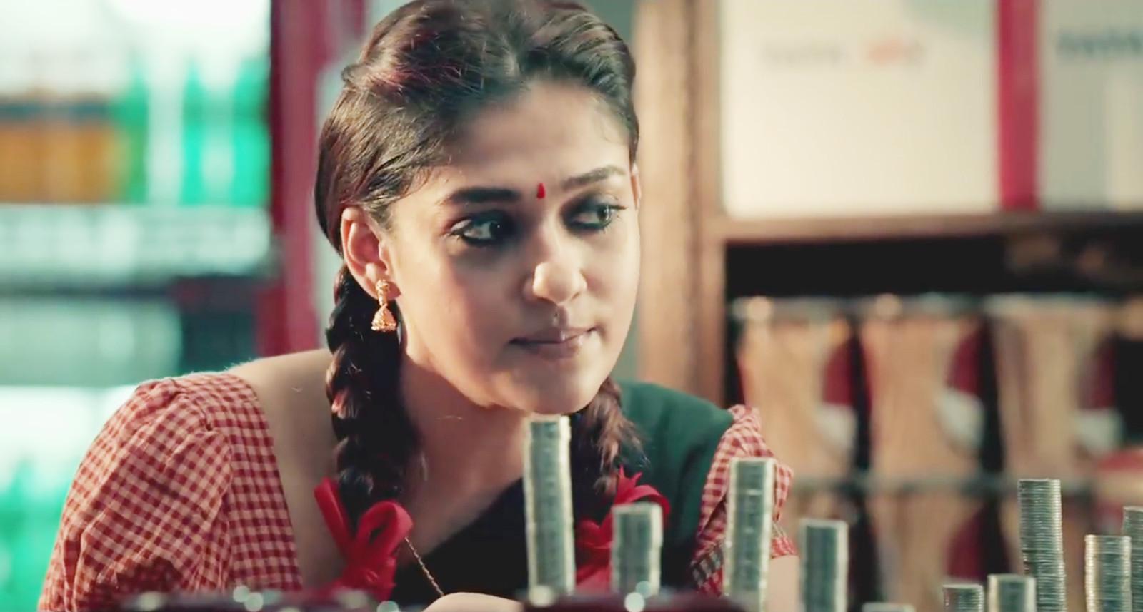 Actress Nayanthara in Tatasky Advertisement