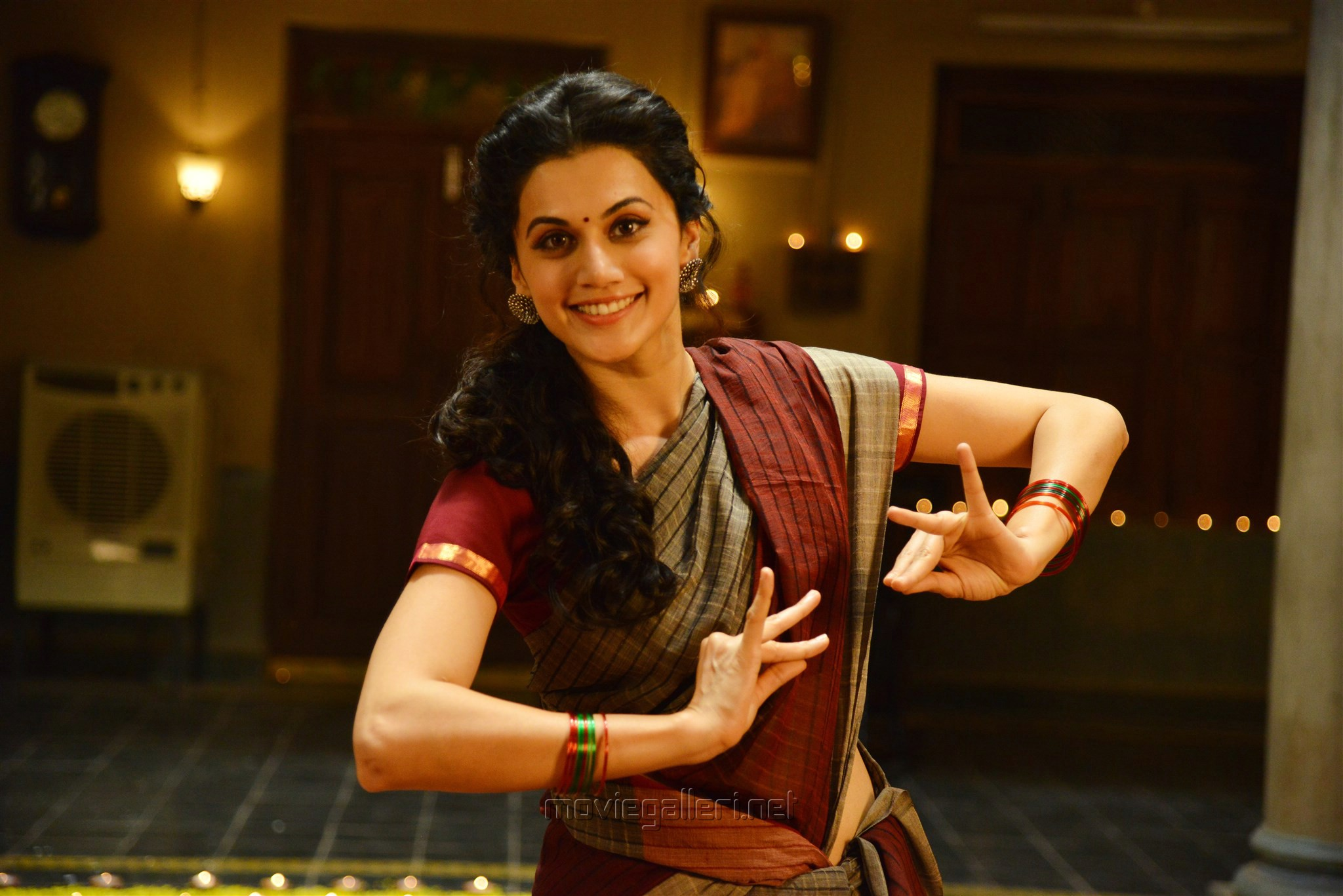 Actress Taapsee Pannu Stills in Anando Brahma Movie