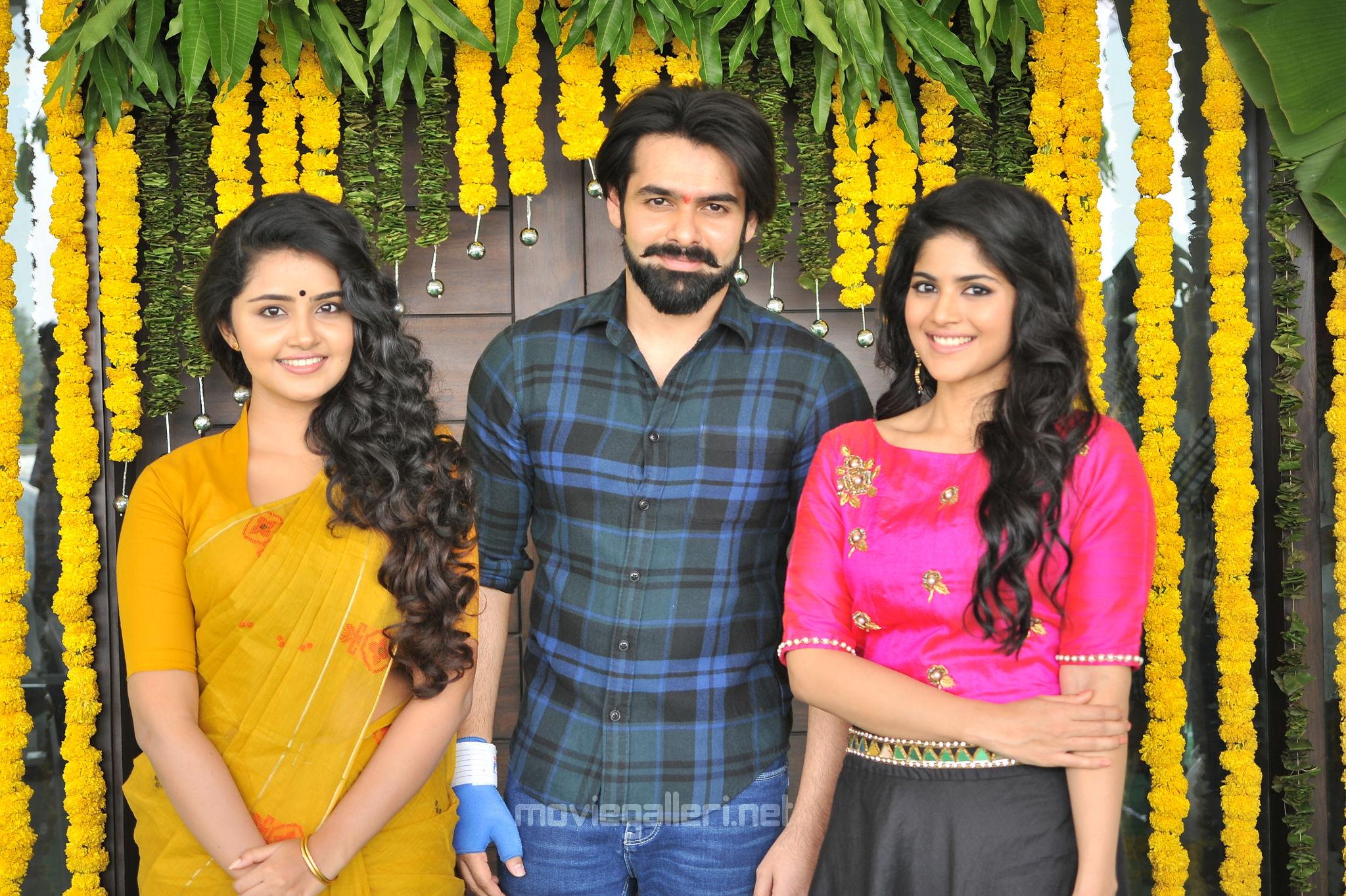 Anupama Parameswaran, Ram, Megha Akash @ Vunnadi Okate Zindagi Movie Launch