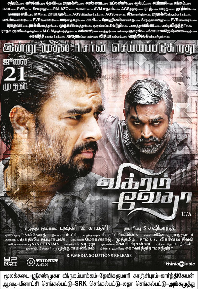 Censor details of Vikram Vedha