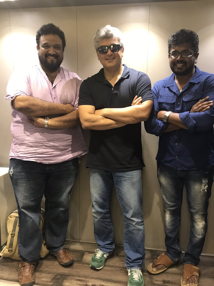 Director Siva turns lyricist for Ajith Vivegam Movie
