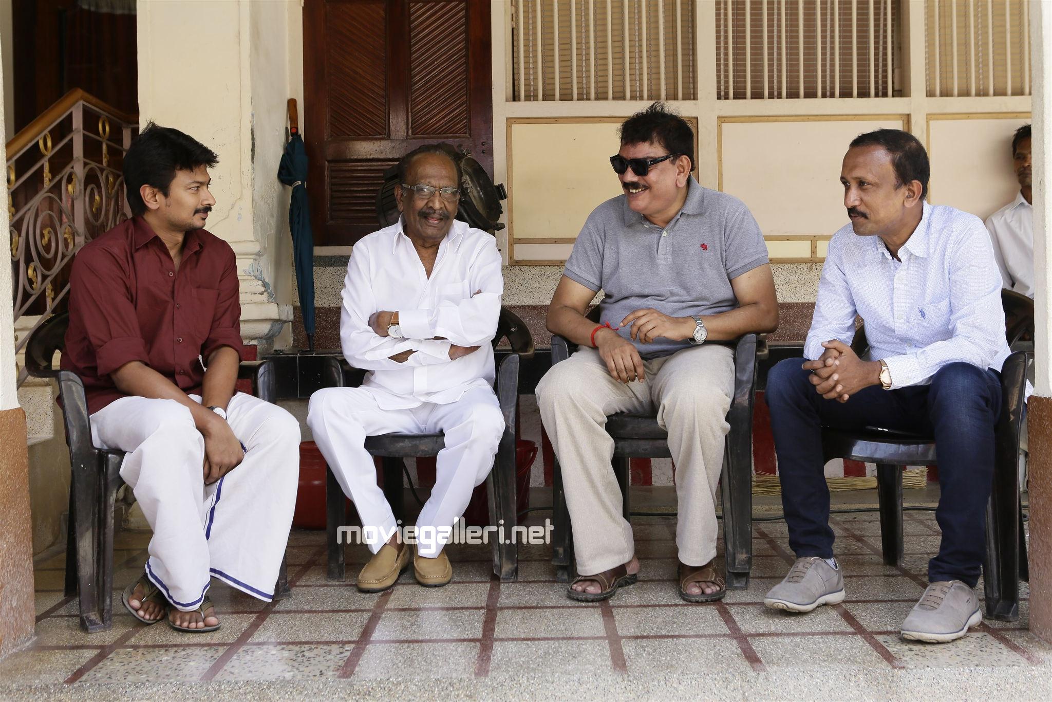 Tamil Director J Mahendran playing Udhayanidhi's father Priyadarshan Untitled Project.