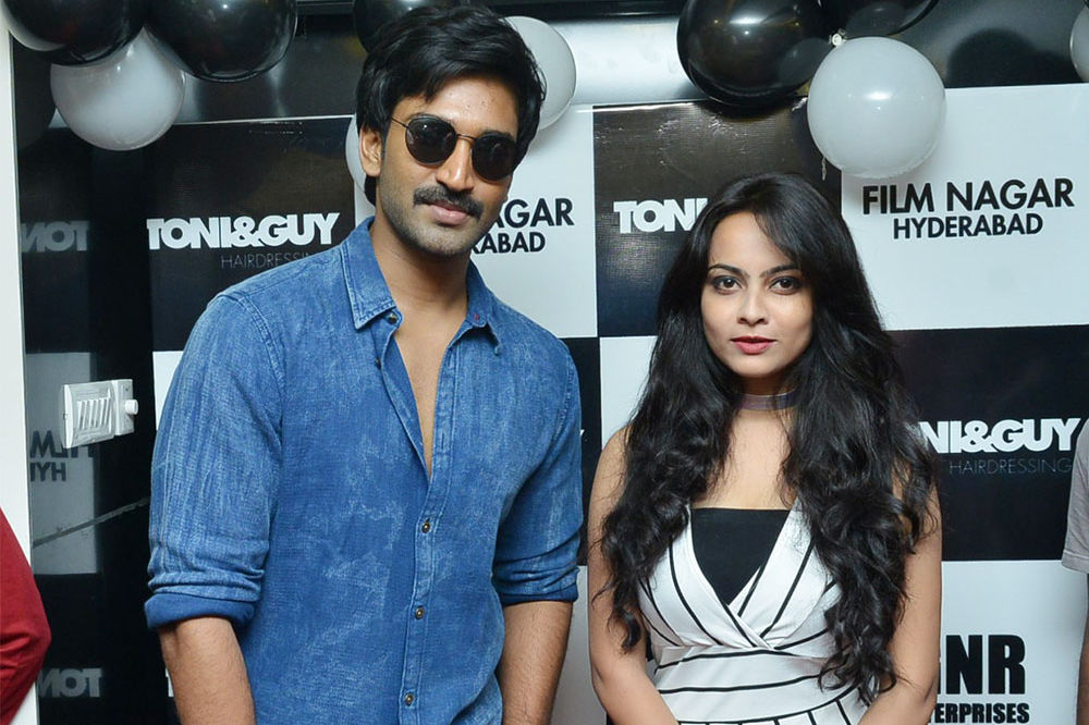 Actor Aadhi launches Toni & Guy Salon launch at Film Nagar Hyderabad
