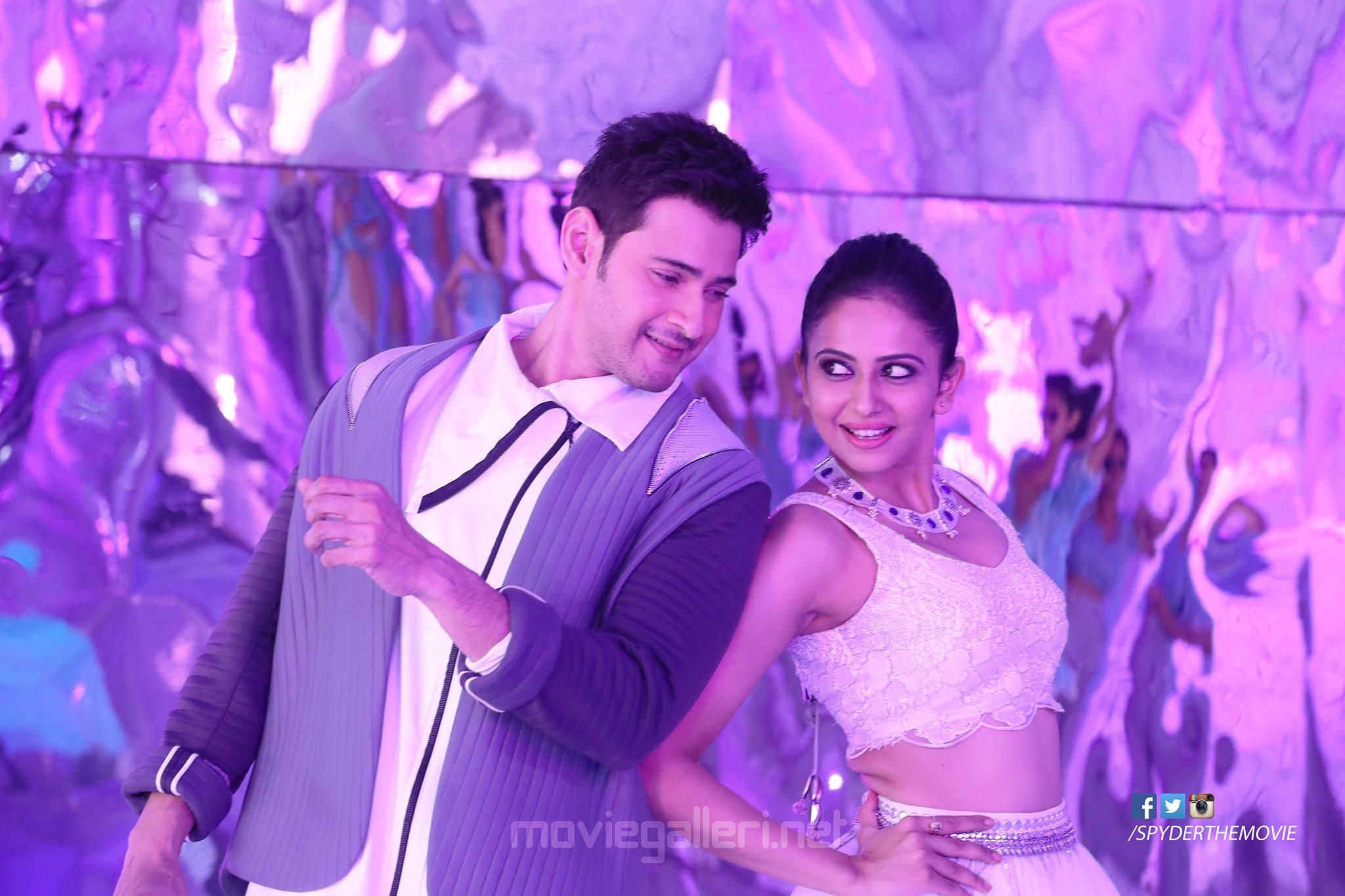 Mahesh Babu Rakul Preet Spyder Movie HQ Still