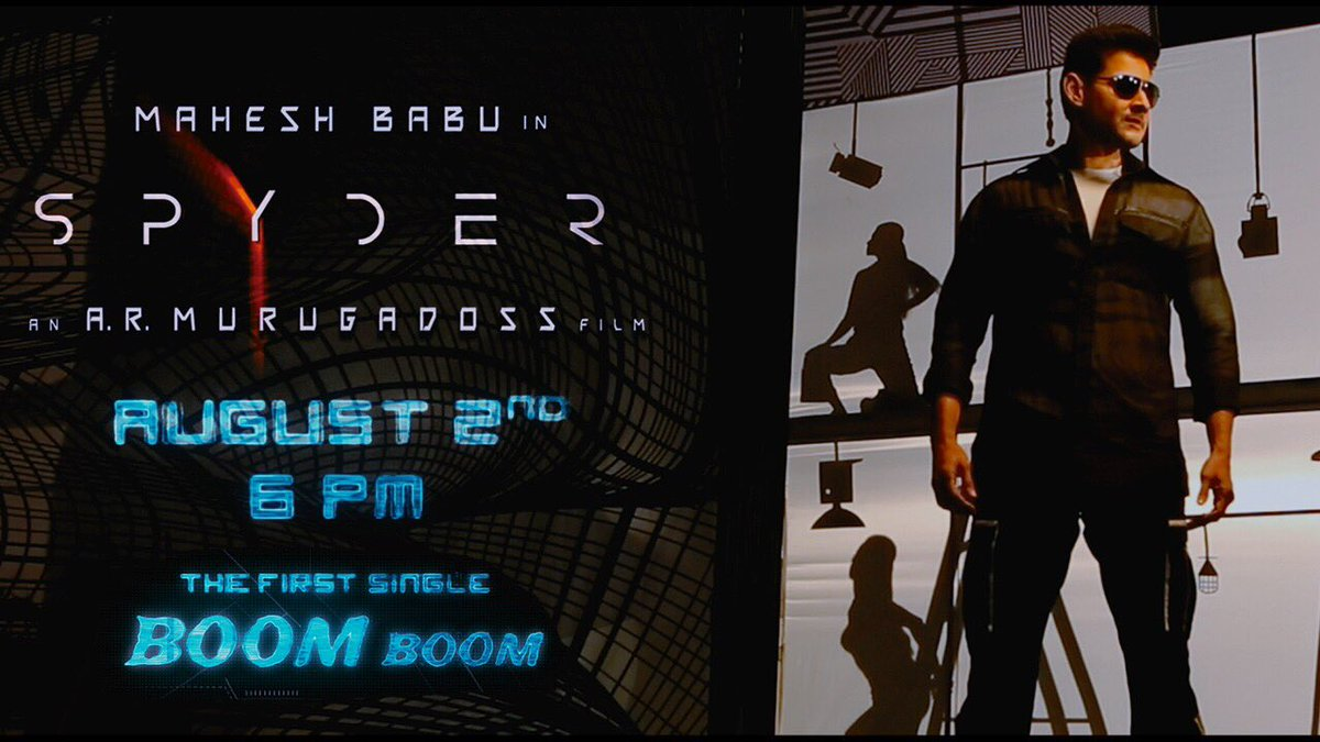 Spyder Boom Boom song releasing on August 2nd