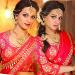 Reshma Rathore Traditional Saree Stills