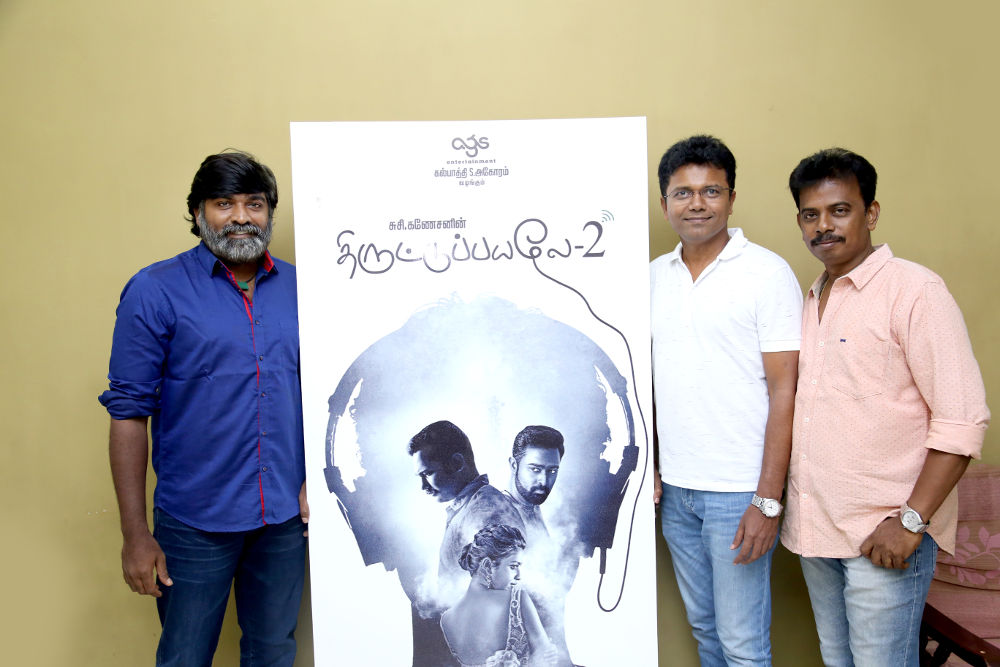 Thiruttu Payale 2 Movie Second Look Poster Released By Vijay Sethupathi