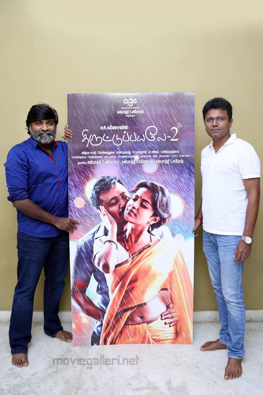 Vijay Sethupathi Released Thiruttu Payale 2 First Look Poster