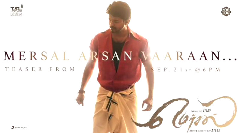Vijay Mersal Teaser Release on Sep 21st