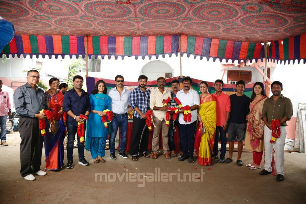 Vikram Saamy 2 Movie Pooja Stills