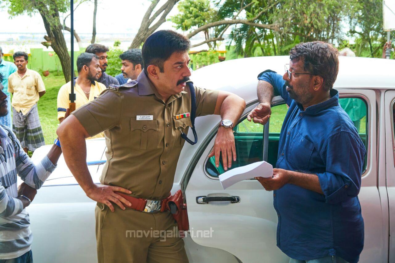 Actor Aravind Swamy Vanagamudi Shooting Nears Completion