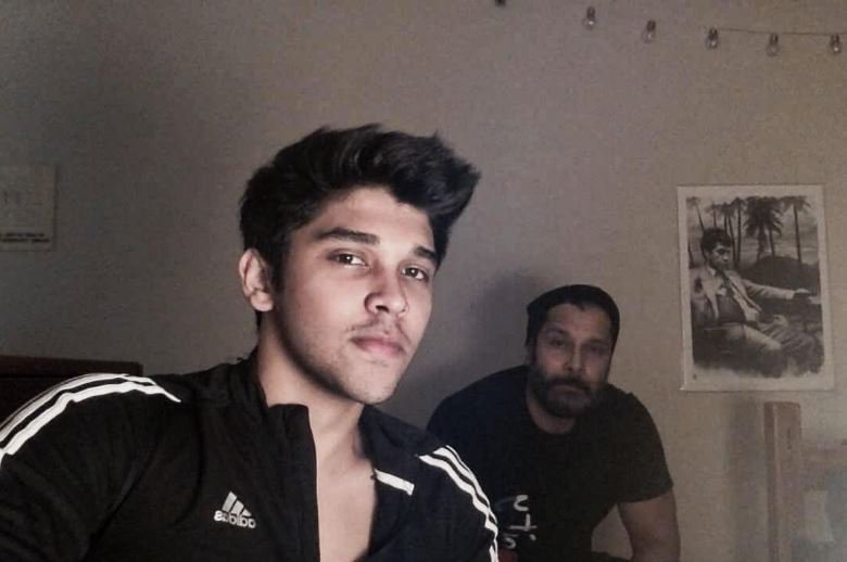 Actor Dhruv Vikram in Arjun Reddy Tamil Remake