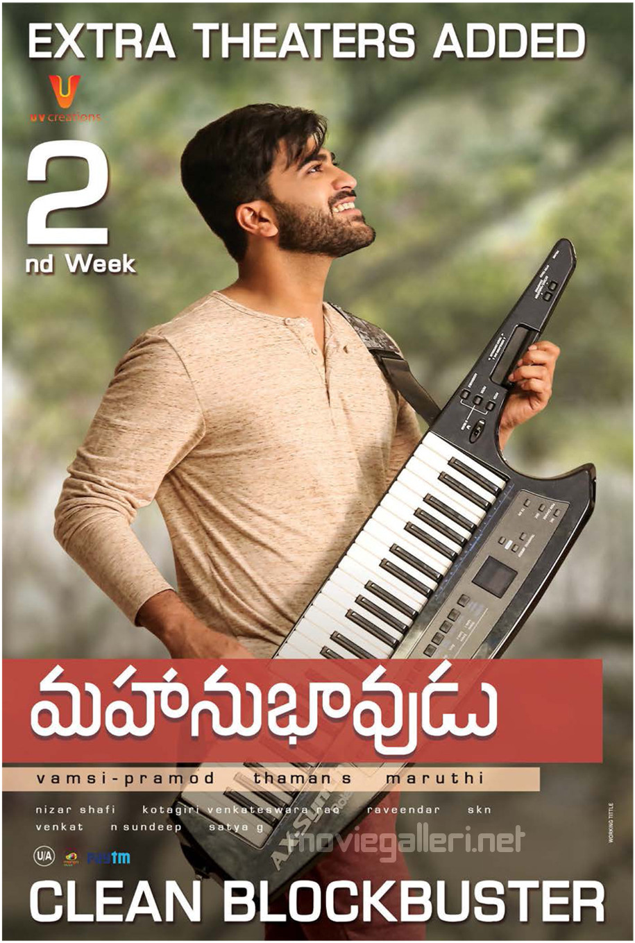 Actor Sharwanand Mahanubhavudu Movie 2nd Week Posters