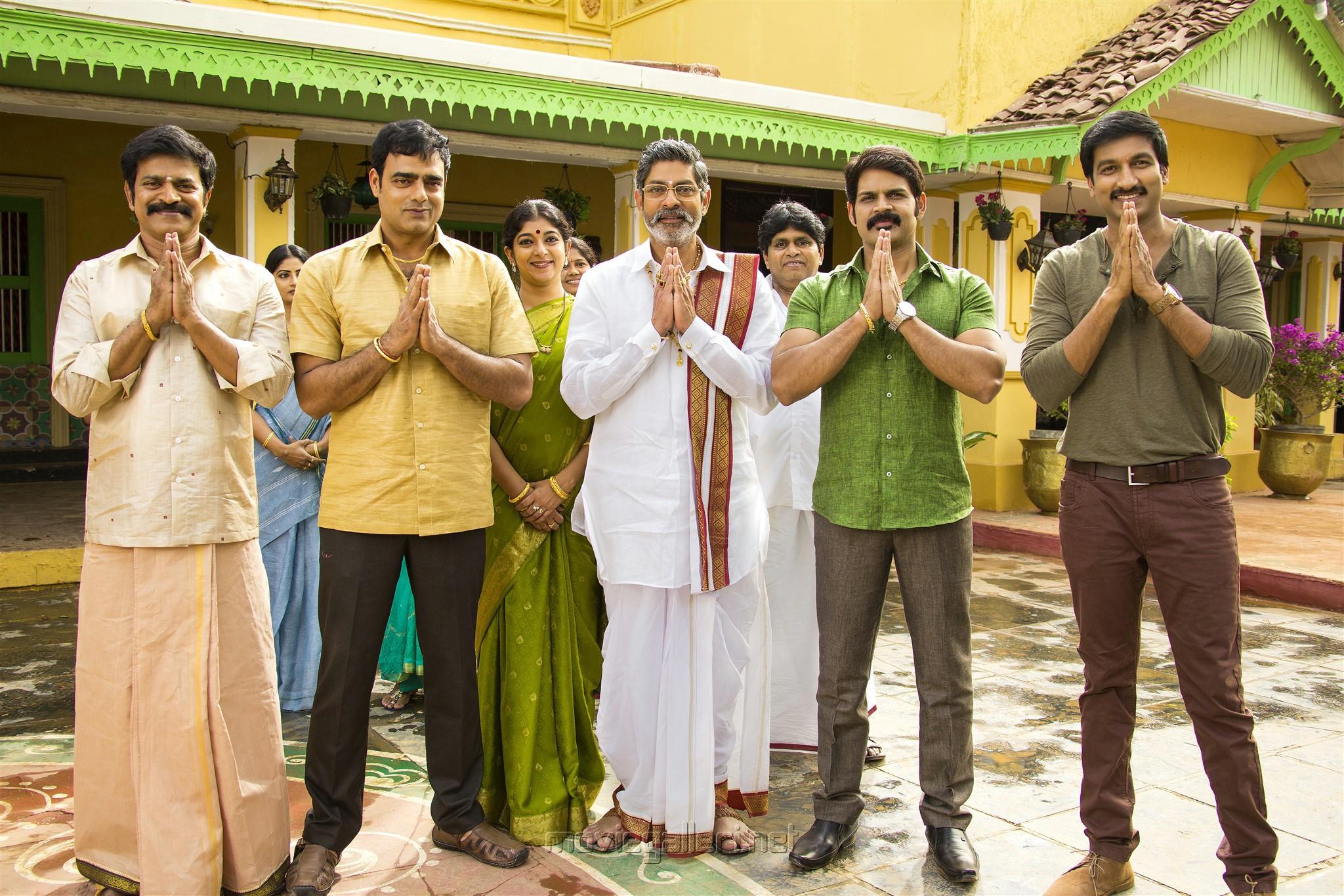 Brahmaji Abhimanyu Singh Jagapathi Babu Shaam Gopichand Oxygen Movie Latest Image HD