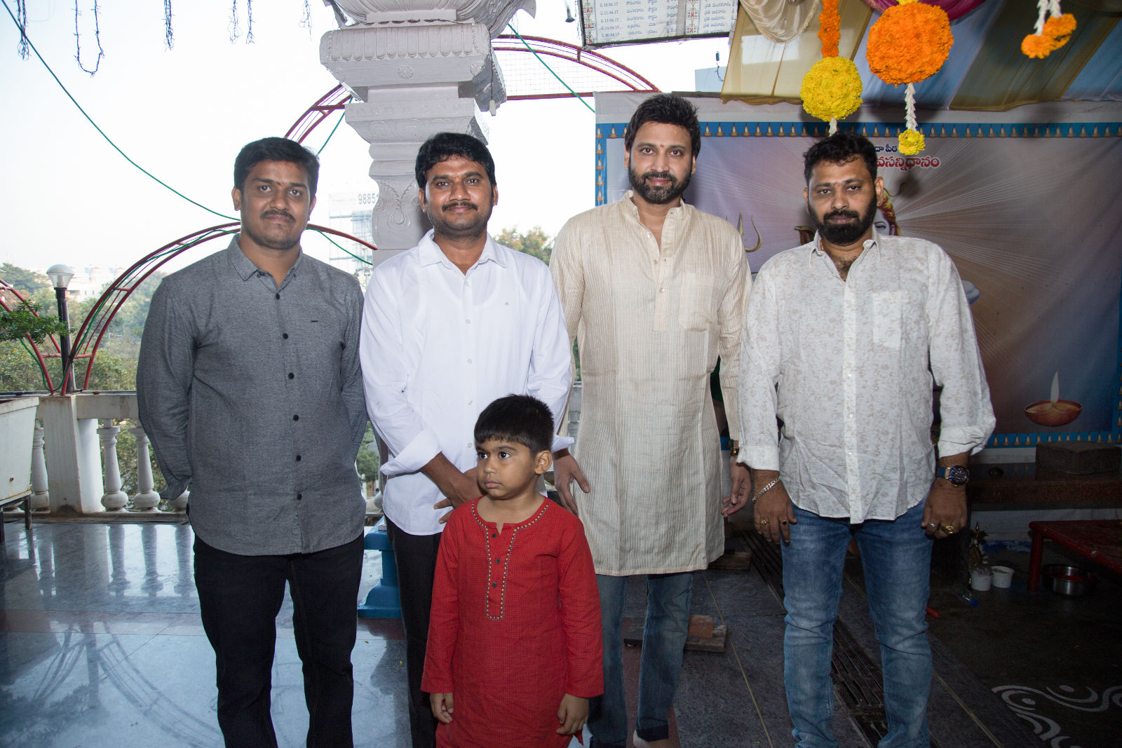 Director Anil Srikantam Actor Sumanth new film launched