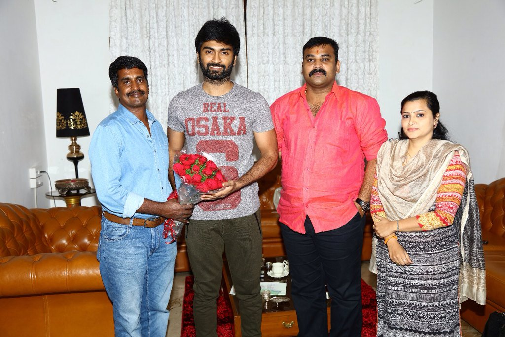 Director R.Kannan & Actor Atharvaa Untitled Project