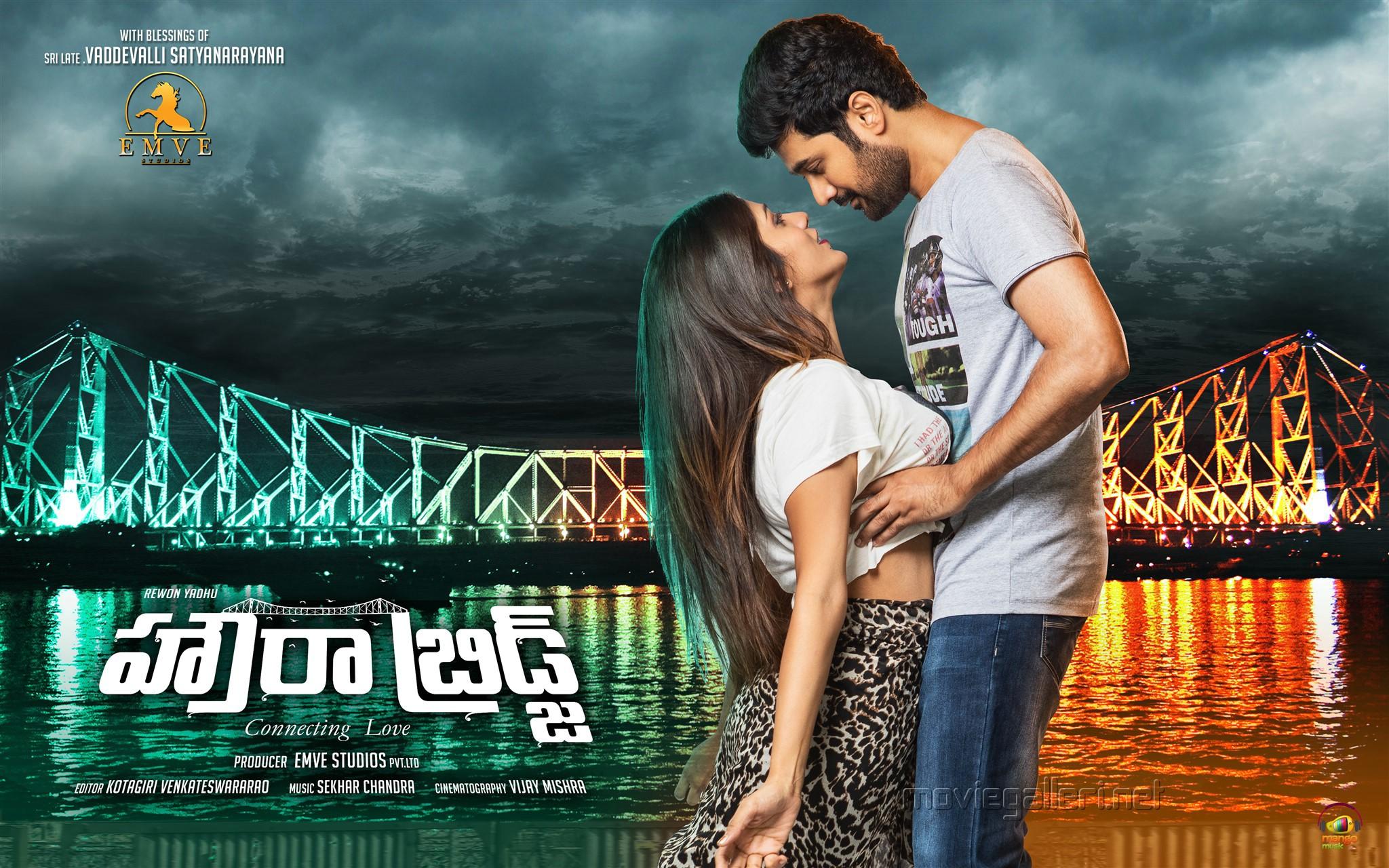 Hot Chandini Chowdary Rahul Ravindran Howrah Bridge Movie New HD Wallpaper