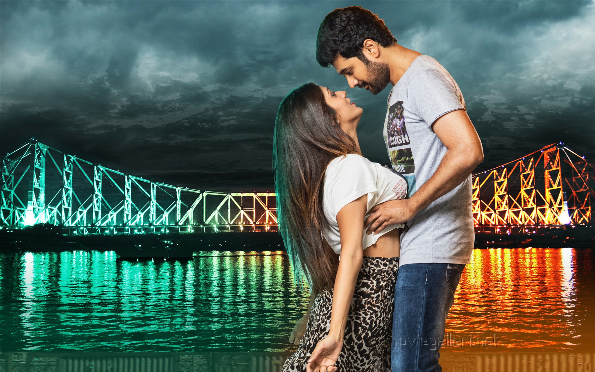 Hot Chandini Chowdary Rahul Ravindran Howrah Bridge Movie New HQ Wallpaper