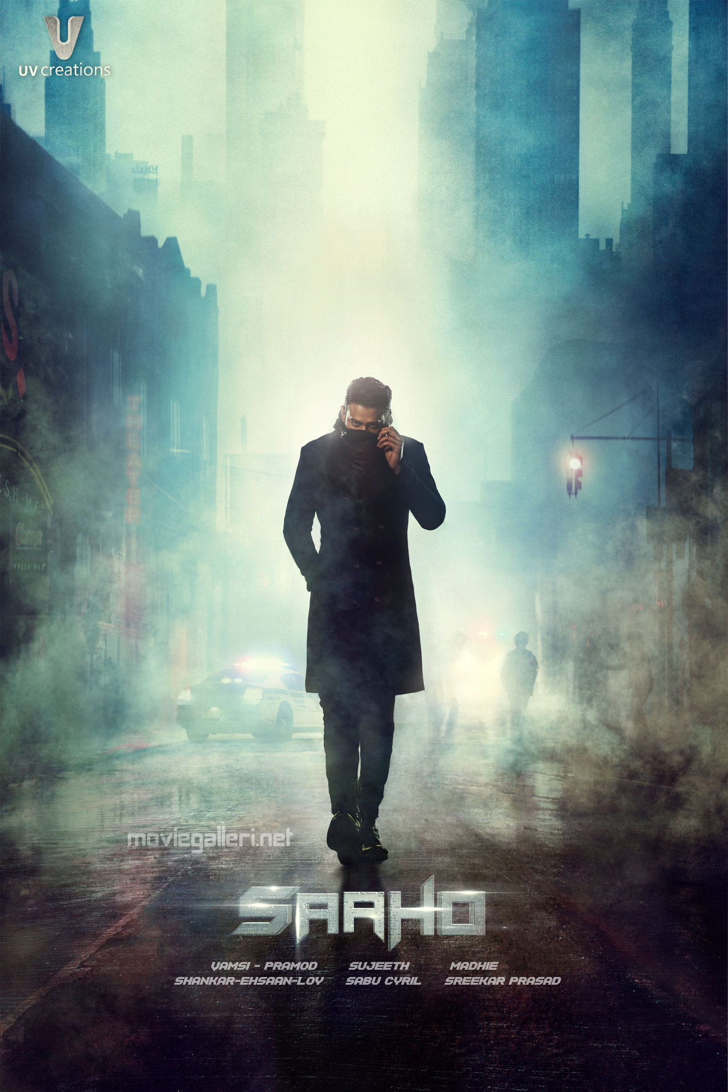 Prabhas Saaho First Look HD Poster