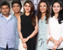 Raju Gari Gadhi 2 Movie Success Meet Stills