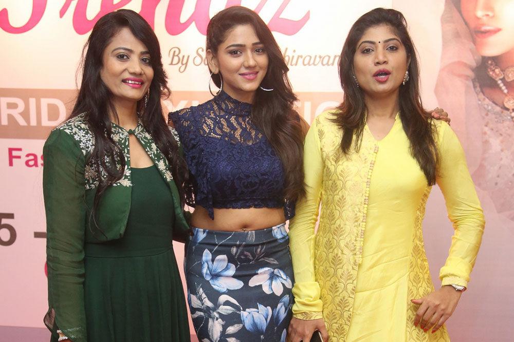 Trendz Bridal Exhibition begins at Taj Krishna Graced by Socialite Alekhya Reddy & Sushila Bokadiya