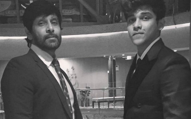 actor vikram son dhruv images