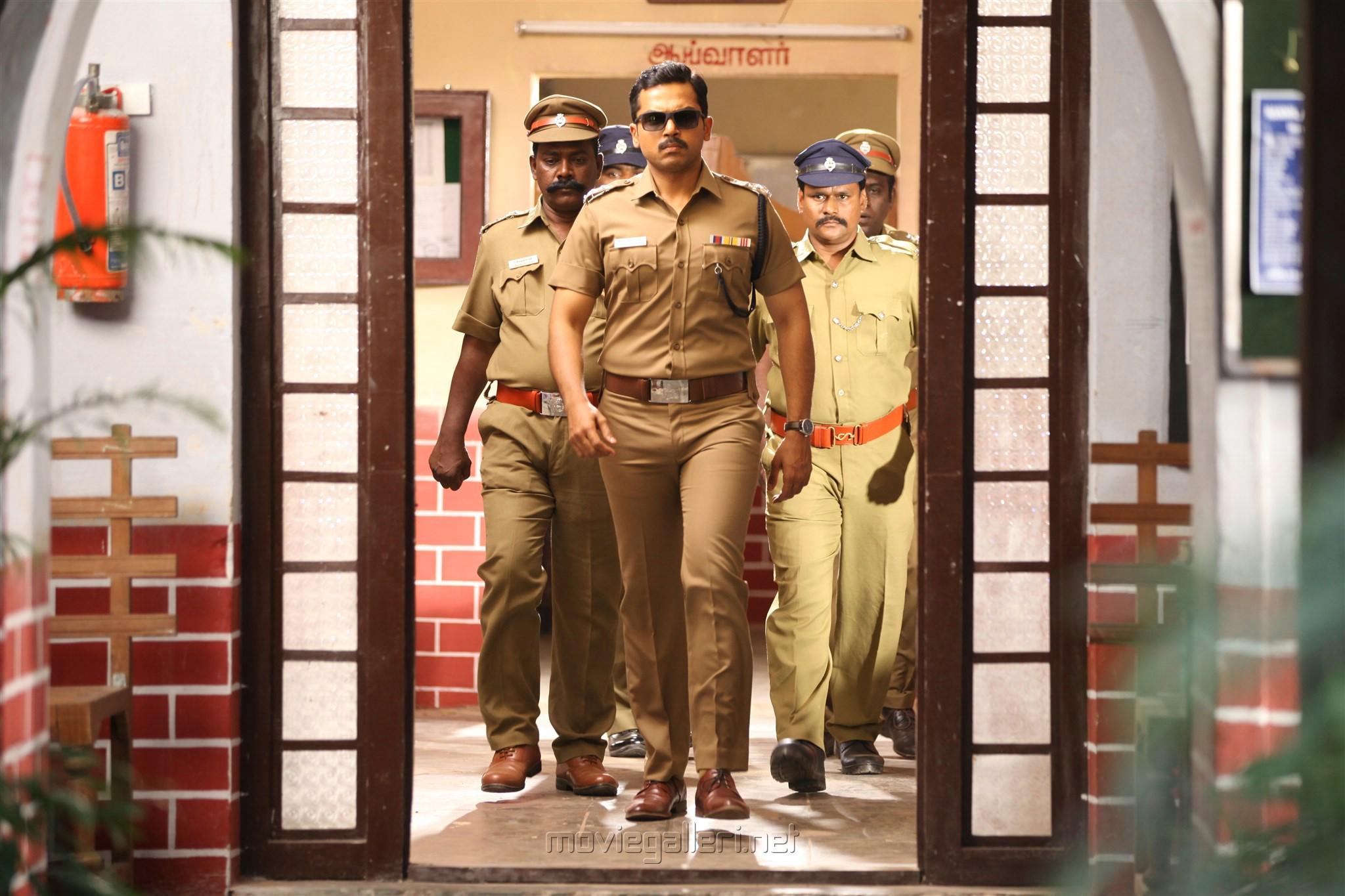 1500 cops to watch 'Khakee' Karthi Khakee Movie Stills HD