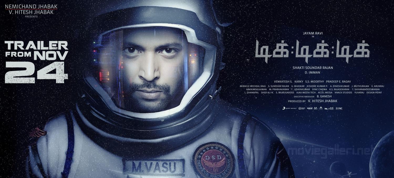 Jayam Ravi Tik Tik Tik Movie Trailer from Nov 24 Wallpapers