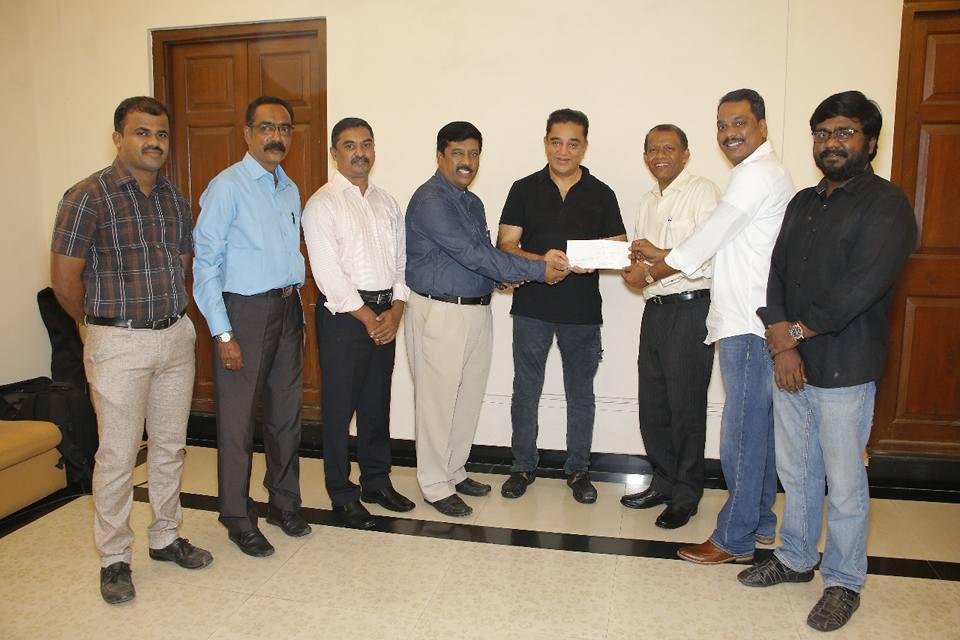 Kamal Haasan donated Rs 20 lakh for setting up Tamil chair at Harvard University