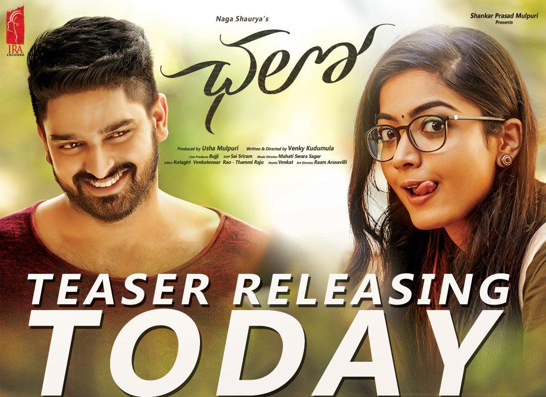 Naga Shourya Rashmika Mandanna Chalo Movie Teaser Releasing Today Posters