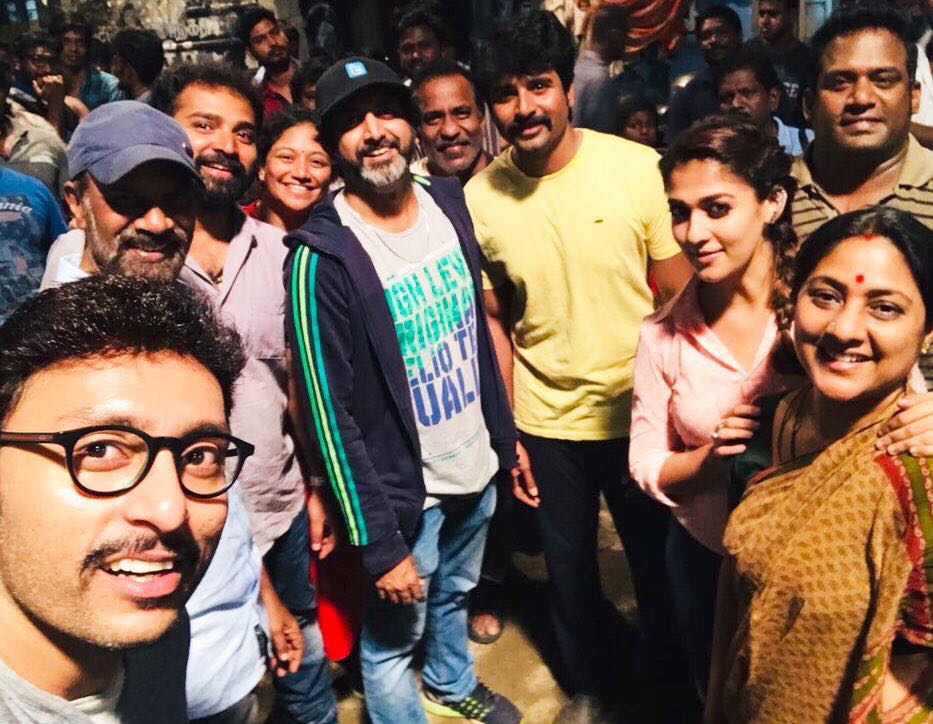 Sivakarthikeyan Nayanthara Velaikaran shooting wrapped up