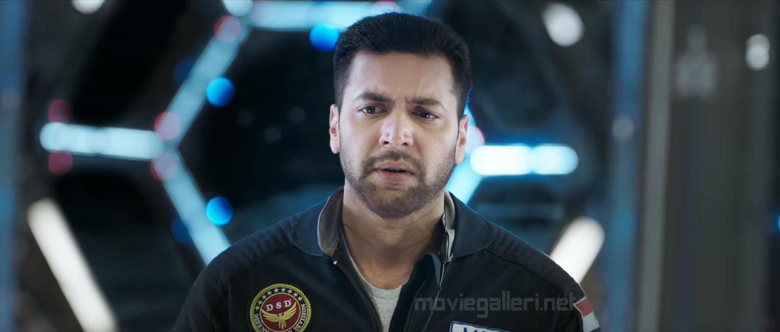 Actor Jayam Ravi dubs for Tik Tik Tik Movie