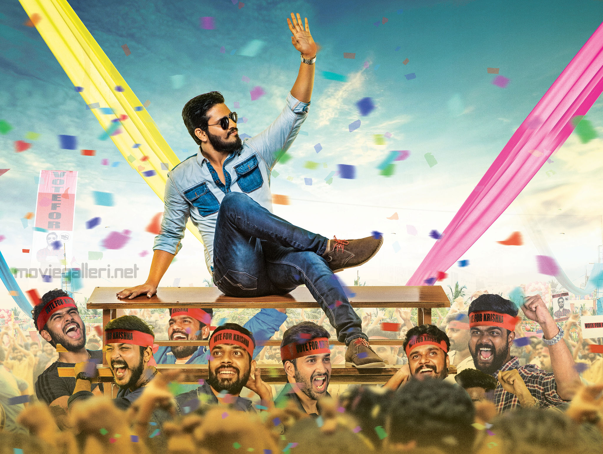 Actor Nikhil Kirrak Party Movie First Look Image HD