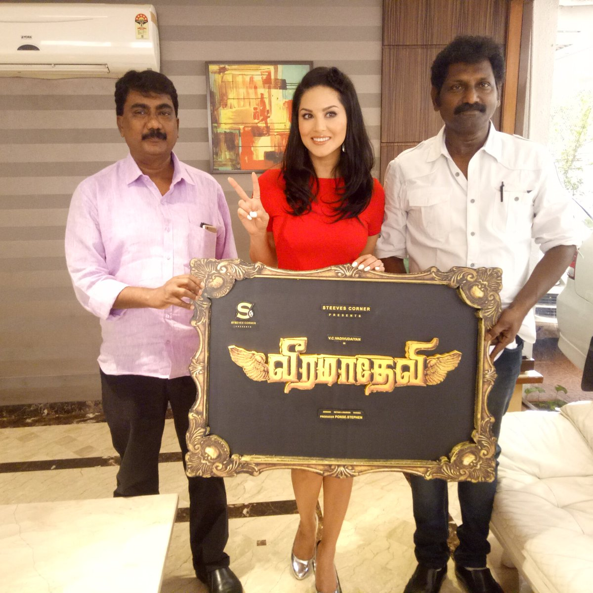 Actress Sunny Leone become Veeramadevi Movie