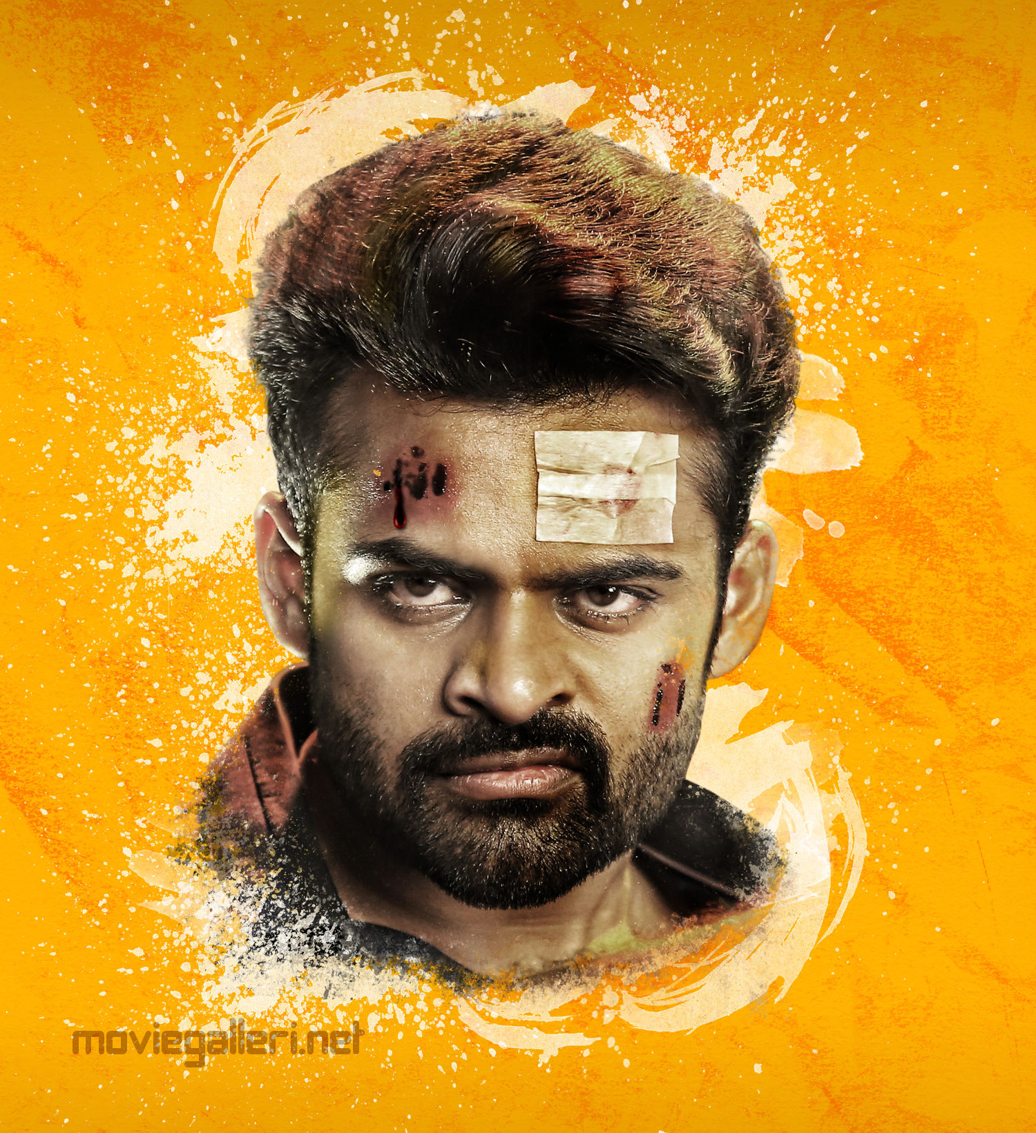 Inttelligent Movie Actor Sai Dharam Tej First Look HD