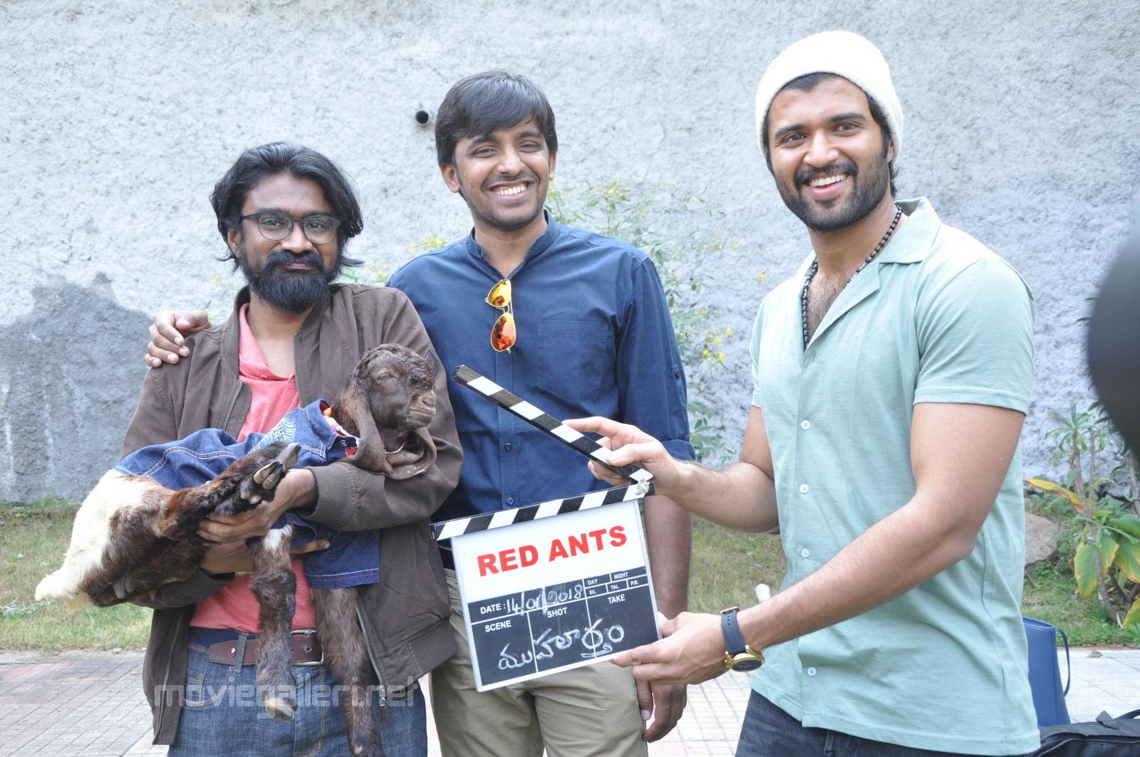 Mithai movie launched by Vijay Devarakonda